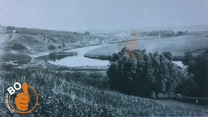 Река Пахра в районе Старосьяново, 1900 года
