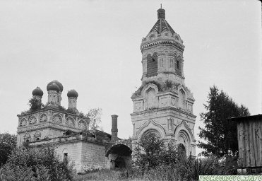 Село Колычево. Храм Воскресения Словущего