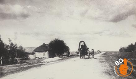 Дорога в Дугино, 1900 год